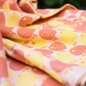Preview: Didymos Tragetuch Gr. 7 - Äpfel (orange) by Graziela