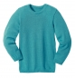 Preview: Disana Basic Wollpullover - Blau-Marine