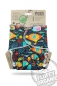 "Preview: Petit Lulu Maxi Nachtwindel ""Fluffy Organic"" (7-16kg) Gr. 3 - Druckies - Yellow Submarine"