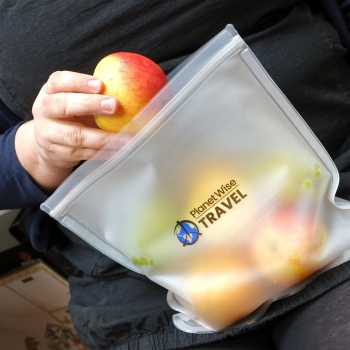 Planet Wise transparente Snack Bags (4 Stk.)