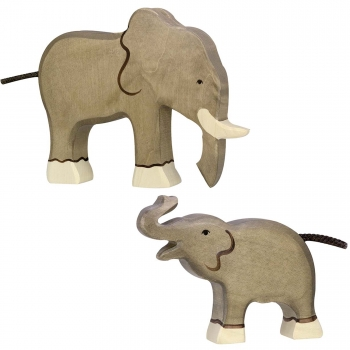 Holztiger Figuren-Set - Elefant