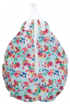 Smart Bottoms ovale Nasstasche (L) - Aqua Floral