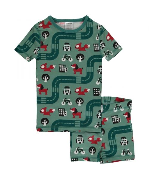 62c613b2abba0 Natürlich Familie - Maxomorra Pyjama Set Kurzarm - Neue Kollektion 2019