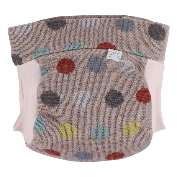 Popolini EasyFree Organic All in 3+ System (3 Teile + Abhaltenfunktion) - Cosy Dots