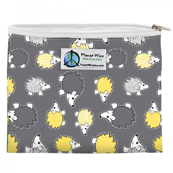 Planet Wise Zipper Snack Bag - Polyester