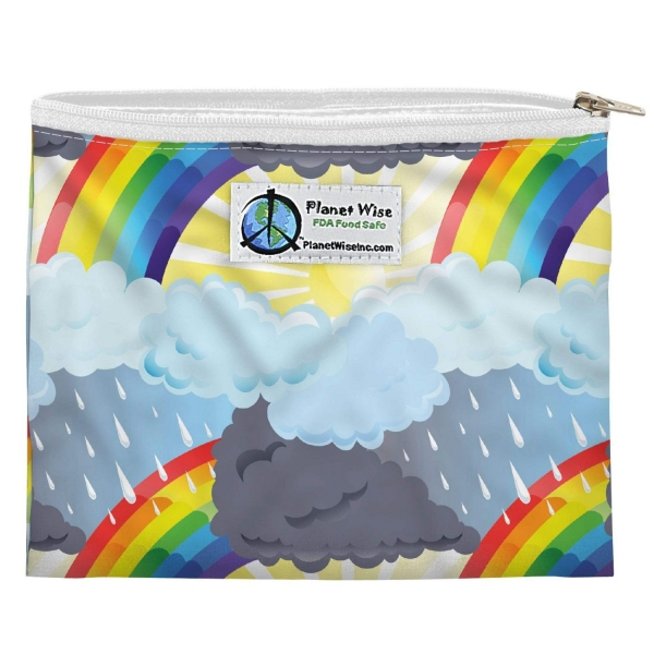 Planet Wise Zipper Snack Bag - Through the Storm
