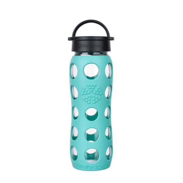 Lifefactory Glasflasche Kollektion 2018 - 650ml - Sea Green