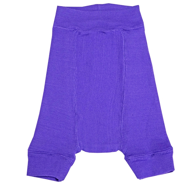 ManyMonths (BabyIdea) Woll-Shorties - Purple Peace