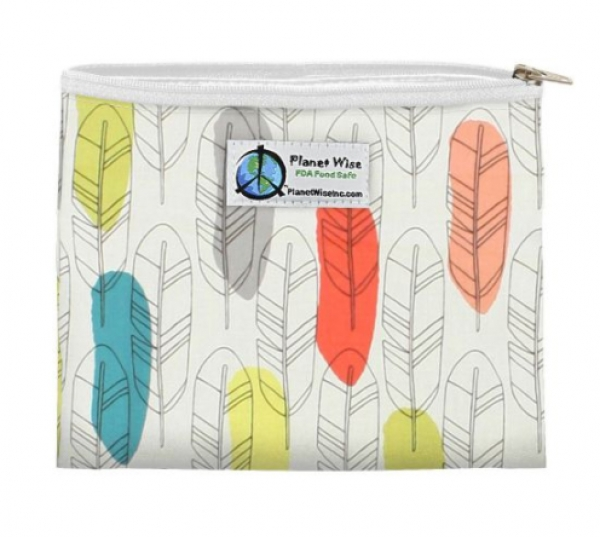 Planet Wise Zipper Snack Bag